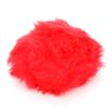 Universal Yarn Luxury Fur Pom Poms - Red