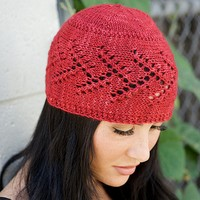 Eyelet and Twigs Hat PDF