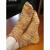 Gardiner Yarn Works Underwater Basketweaving Socks PDF