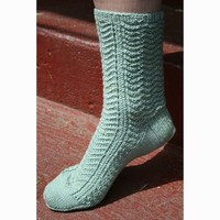 Walk in the Woods Socks PDF