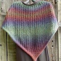 Bloomin' Colors Shawl (Free)