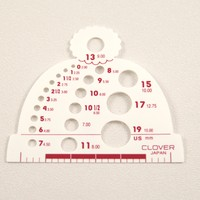 Hat Shaped Needle Gauge