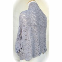 Hug-Me-Tight Fan Lace Jacket Wrap PDF