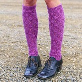 Imperial Yarn Snowflake Lace Knee High PDF