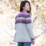 Imperial Yarn Coho Wind Cardigan PDF