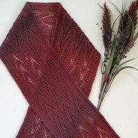 Plum Harvest Scarf (melody)