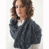 Jo Sharp Moss Cable Scarf PDF