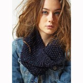Jo Sharp Navy Moss Cowl PDF