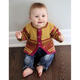 Knit One Crochet Too 2134 Baby Garden Cardi