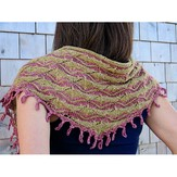 Knit One Crochet Too 2208 Antiquity Scarf