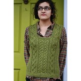 Kirsten Kapur Designs Wood Hollow Vest PDF