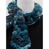 Knitting Fever Ripple Scarf Crocheted Version (Free)