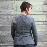 Kira K. Designs Diamond Back Cardigan PDF
