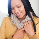 Be Sweet Entwined Cowl Kit