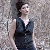Stacy Charles Fine Yarns Josephine Vest Kit (Free Pattern)