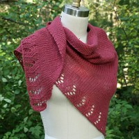 Soft Linen Shawl (Free Pattern)