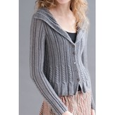 Filatura Di Crosa Sounds of Silence Cardigan Kit