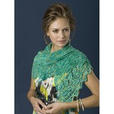 TSCArtyarns Trailing Vines Shawl Kit