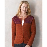Valley Yarns 287 Hampshire Tweed Cardigan