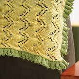 Valley Yarns 299 Cloister Crib Blanket