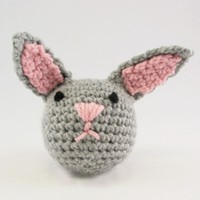 368 Crocheted Rabbit Kit (Free Pattern)