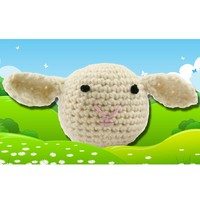 374 Crocheted Lamb (Free Pattern)