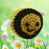 Valley Yarns 375 Crocheted Bumblebee Kit (Free Pattern)