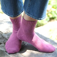 425 Cosmos Toe-Up Crocheted Socks Kit