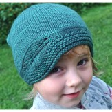 Knitting School Dropout Lu Leaf Hat for All Ages PDF