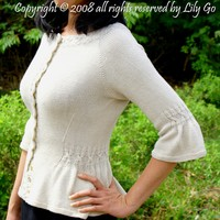 Simple Cable Cardigan PDF