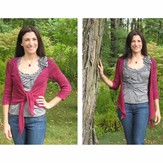 Lyrical Knits Simplicity Cardigan PDF