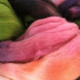 Frabjous Fibers Hand Dyed Merino Top