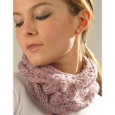 Misti Alpaca 2045 Cabled Neck Wrap (Free)