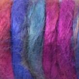 Great Adirondack Mulberry Silk Roving