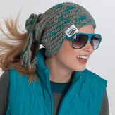 My Mountain Schachenmayr Sugar Bowl Hat & Cowl (Free)