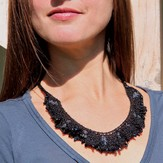 Nelkin Designs Rippled Beaded Necklace Kit