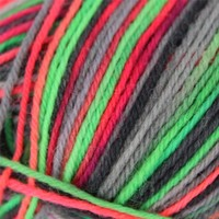 Supersocke 4-Ply Neon Color Two