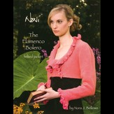 Noni 1301 The Flamenco Bolero Felted Jacket