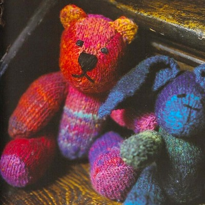 Free Knitting Patterns Noro Yarn : Noro Bear (Free) at WEBS Yarn.com