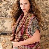 Noro Striped Shrug PDF