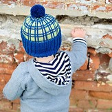 Tot Toppers Plaid Hatter