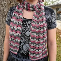 Cables and Lace Scarf PDF