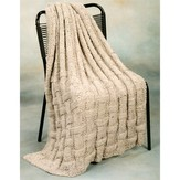 Plymouth Yarn 1767 Basket Afghan