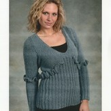 Plymouth Yarn 1901 Ladies Pullover