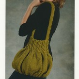 Plymouth Yarn 1910 Pleated Purse