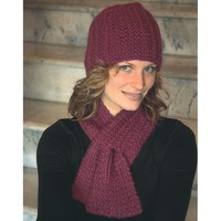 2117 Keyhole Scarf and Hat Set