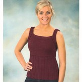 Plymouth Yarn 2178 Worsted Merino Superwash Classic Camisole