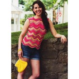 Plymouth Yarn 2631 Chevron Tank