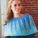 Plymouth Yarn 2733 Shoulder Warmer