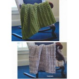 Plymouth Yarn 2803 Throws